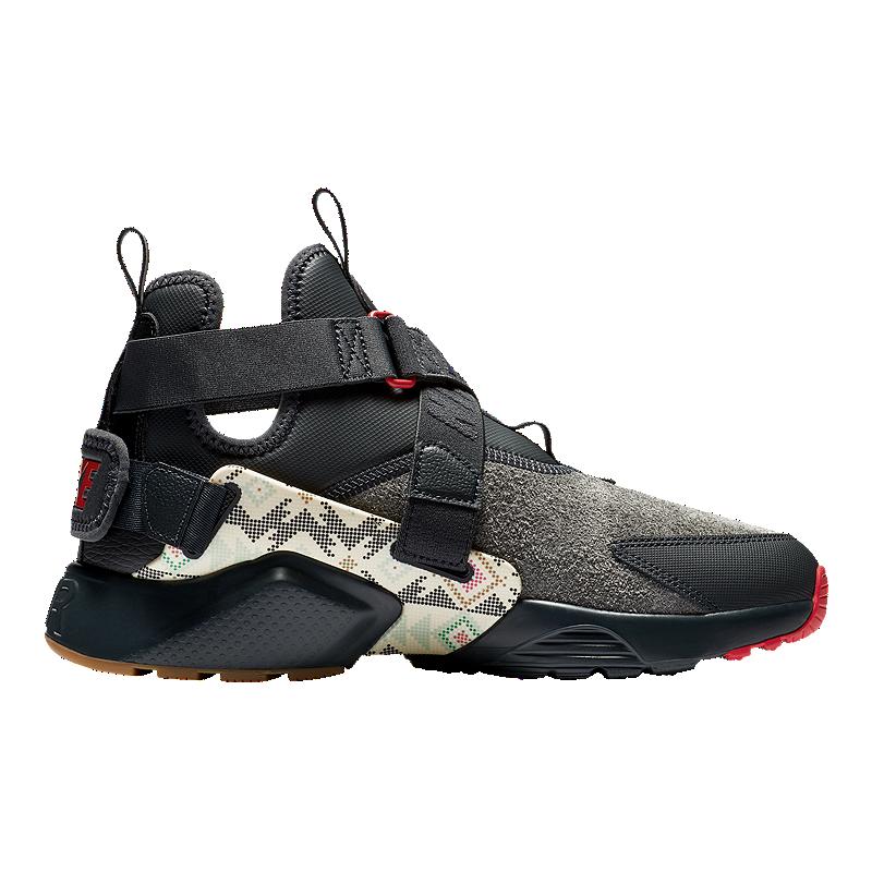 promo code 35de0 e0ff4 Nike Men s N7 Huarache City Utility Premium Shoes - Anthracite University  Red Gum Light   Sport Chek