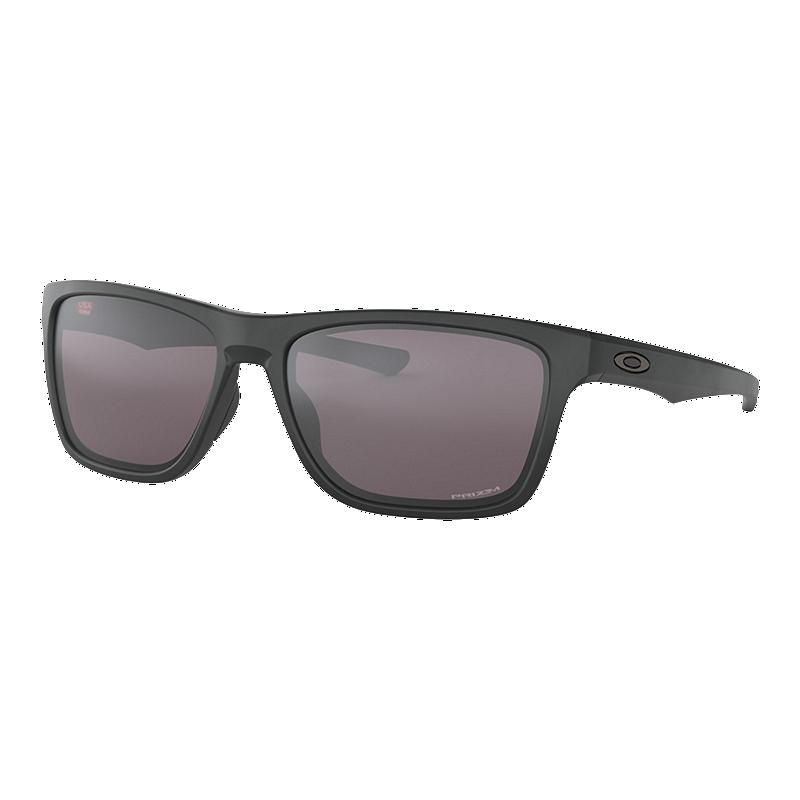 dfb013bb6d3 Oakley Holston Sunglasses - Matte Black with Violet Iridium Lenses ...