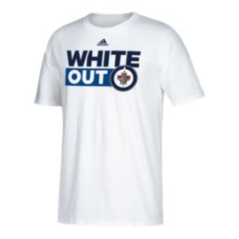 Winnipeg Jets adidas Men's Whiteout Boxed Out T Shirt