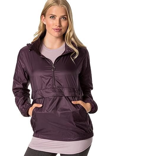 e7846a98 Diadora Luxe Women's Bronwyn Packable Jacket - Burgundy Plum Perfect