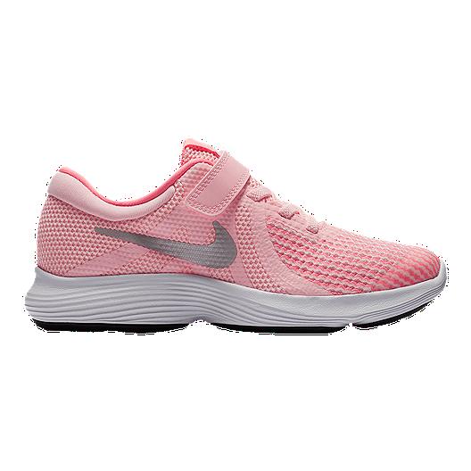 bfa7c65d18c3 Nike Girls  Revolution 4 Preschool Shoes - Arctic Punch Metallic Silver