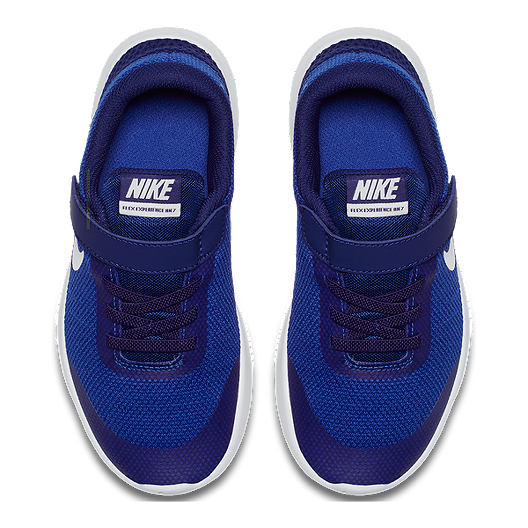 7899007819c60 Nike Kids  Flex Experience RN 7 Preschool Shoes - Royal White. (0). View  Description