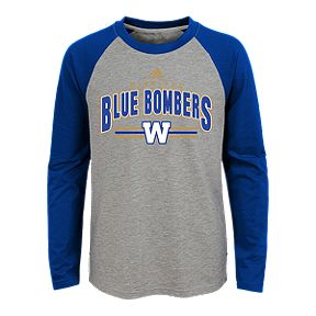 9c4a26a2cc6 Youth Winnipeg Blue Bombers Audible Long Sleeve Tee