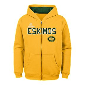 c6e43abaa60 Child Edmonton Eskimos Stated Full Zip Hoodie