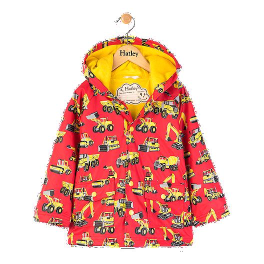4180674b8ad Hatley Toddler Boys' Machines Rain Jacket | Sport Chek