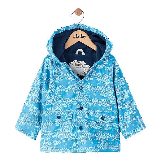 af01cb66268 Hatley Baby Boys' Shark Rain Jacket