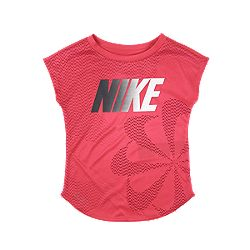 cb81a88e07 image of Nike Girls  Toddler Pinwheeel Dri-Fit Modern Short Sleeve T Shirt  with