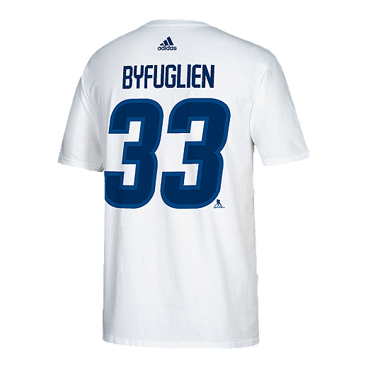 new concept 8d17c a902c Winnipeg Jets adidas Men's Dustin Byfuglien Player T Shirt