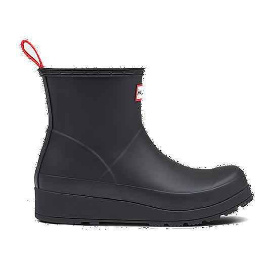 d226d732f88 Hunter Women's Original Play Short Rain Boots - Black