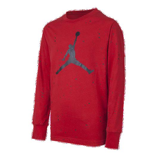 new product 92c44 a0ec1 Nike Jordan Toddler Boys  Jumpman Speckle Long Sleeve Shirt   Sport Chek