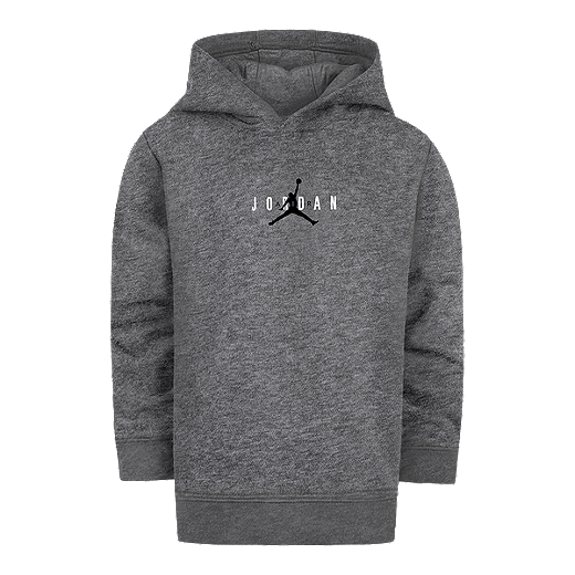 09182c10e36 Nike Jordan Boys' 4-7 Jumpman Air Pullover Hoodie - CARBON HEATHER