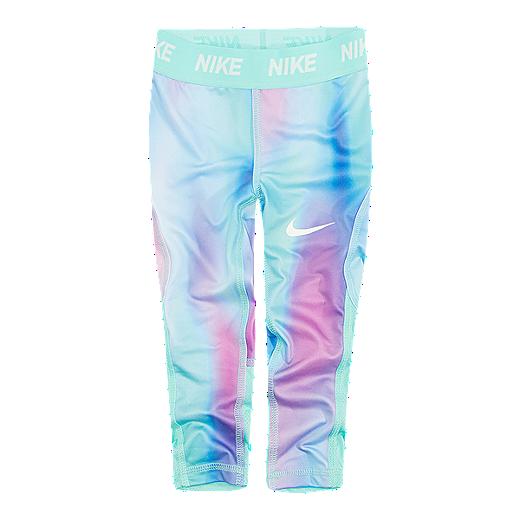 90efb58b4 Nike Toddler Girls' DF All Over Print Leggings - TWILIGHT PULSE