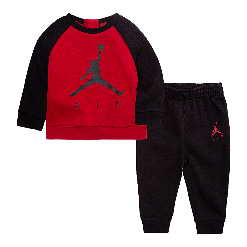 d515c3619e31 Nike Baby Air Jordan Crew Shirt   Jogger Pants Set