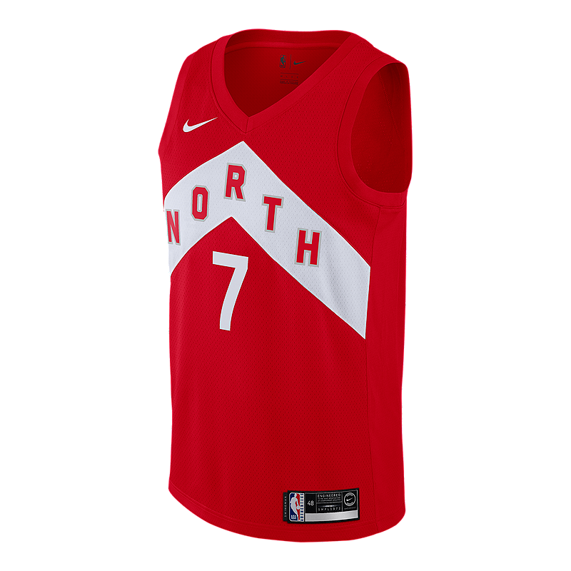 7c9ccb7962e9 Toronto Raptors Men s Nike NBA Earned Edition Lowry Swingman Jersey ...