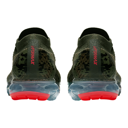 a855ebfb247fa Nike Men's Air VaporMax Flyknit Running Shoes - Olive Camo/Cargo. (0). View  Description