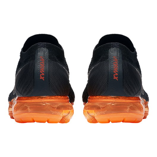 new products 6f1a4 c1b1c Nike Men s Air VaporMax Flyknit Running Shoes - Black Orange Pop. (0). View  Description