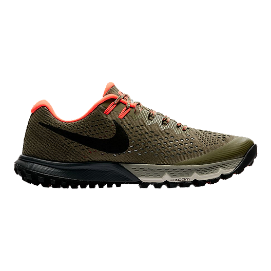 bca3842e8a Nike Men's Air Zoom Terra Kiger 4 Running Shoes - Olive/Black | Sport Chek