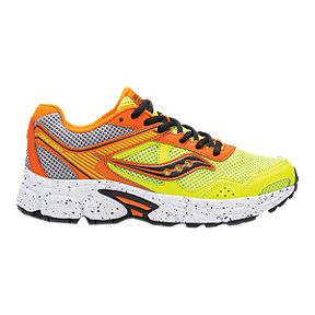 Saucony Kids  Cohesion 10 Grade School Shoes - Orange Citron 8be158bd4