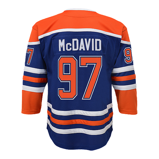 new products 2c5d4 e58a3 Youth Edmonton Oilers Connor McDavid Heritage Jersey
