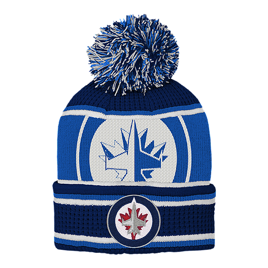 4c0b4d17 Youth Winnipeg Jets Grinder Knit with Pom | Sport Chek