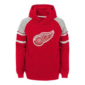 738f54946 Youth Detroit Red Wings Left Winger Hoodie