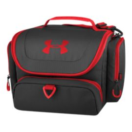 Under Armour 24-Can Soft Cooler - Black/Red