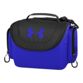Under Armour 12-Can Soft Cooler - Black/Team Royal Blue