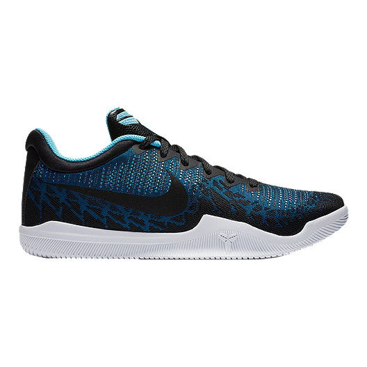 los angeles 5ffea 4acf4 Nike Men s Mamba Rage Basketball Shoes - Blue Black White   Sport Chek