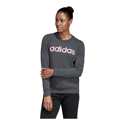 adidas Women's Essentials Linear Sweatshirt