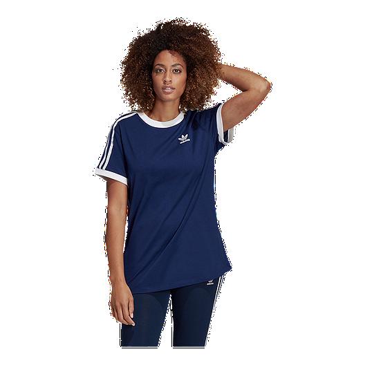 23e592e680 adidas Originals Women's 3 Stripe T Shirt | Sport Chek