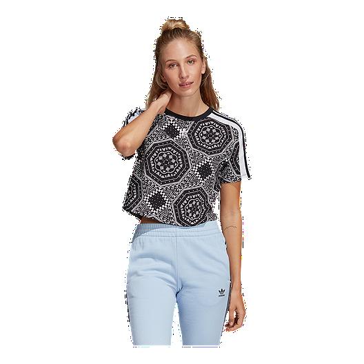 1262b9ec adidas Originals Women's Strict Clash Crop T Shirt | Sport Chek