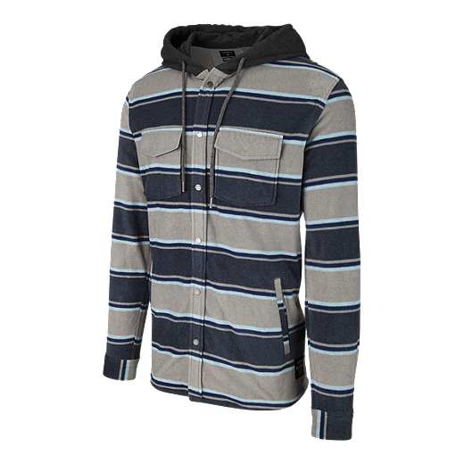 36c339b20914 Quiksilver Men's Surf Days Hood Long Sleeve Fleece - Blue Night - BLUE NIGHT