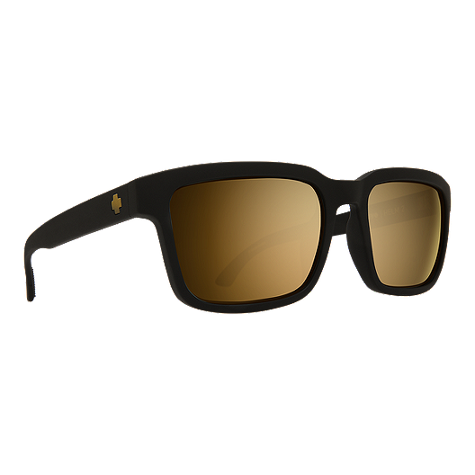 b22a7b6f3acb Spy Helm 2 Sunglasses - Matte Black with Happy Bronze/ Gold Spectra Lenses  | Sport Chek