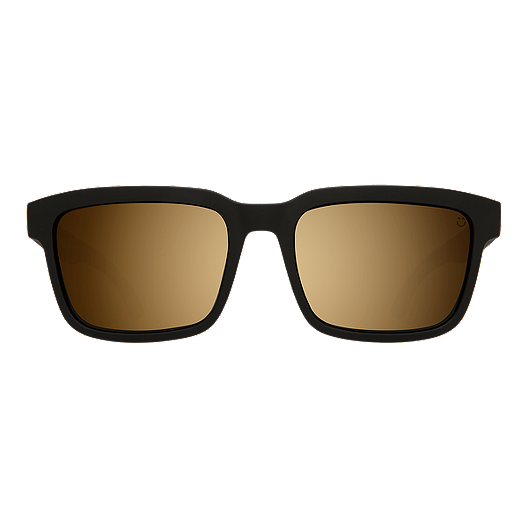bbe56cb3ace2 Spy Helm 2 Sunglasses - Matte Black with Happy Bronze/ Gold Spectra ...