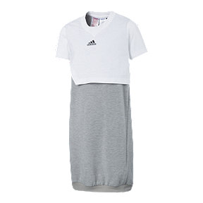 adidas Girls' ID Layer Dress