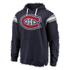 9e2fd3fa6 Montreal Canadiens Men s Fanatics Classic Stripe Fleece Hoodie ...