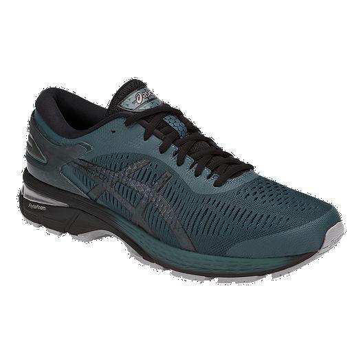 66a1ed449c1 ASICS Men's Gel Kayano 25 Running Shoes - Grey/Black
