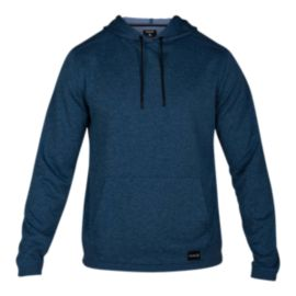 Hurley Men's Dri-FIT Disperse Hooded Pullover - Blue