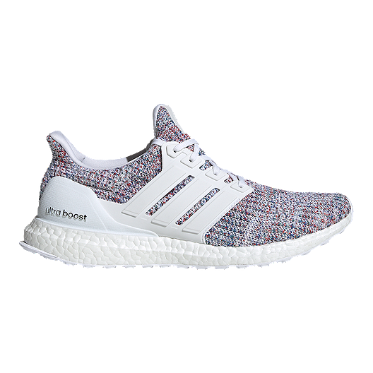 47c87f8d7 adidas Men s Ultra Boost Running Shoes - White Blue