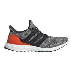 7529306094feb adidas Men s Ultra Boost Running Shoes - White Grey Orange