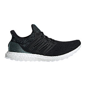 adidas Men's Ultra Boost Parley Running Shoes - Black/White