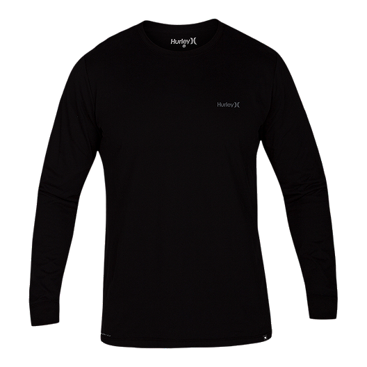 8c26829b Hurley Men's Dri-FIT One And Only 2.0 Long Sleeve T Shirt - Black   Sport  Chek