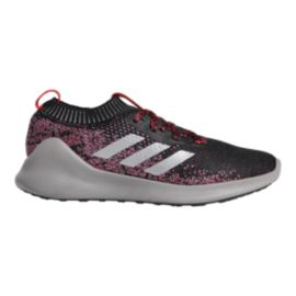 adidas Men's PureBounce + Running Shoes - Carbon/Silver/Scarlet