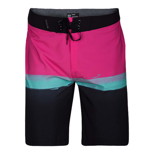 4f052a76cc Hurley Men's Phantom Pure Glass 20 Inch Boardshorts - Pink | Sport Chek