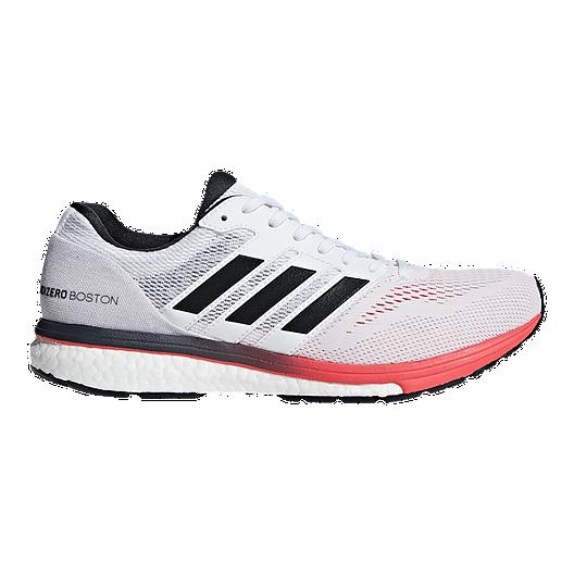 best sneakers 97217 68d47 adidas Men s Adizero Boston 7 Running Shoes - White Grey Red   Sport Chek