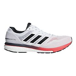d77d311de6ca image of adidas Men's Adizero Boston 7 Running Shoes - White/Grey/Red with