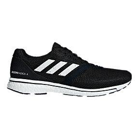 5b9c4e09c669 adidas Men s Adizero Adios 4 Running Shoes - Black White
