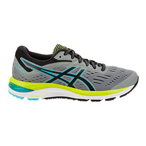 ASICS Women's Cumulus 20 Running Shoes - Stone Grey/Black