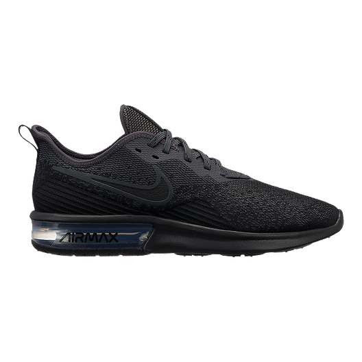 new style 10bb3 aac3f Nike Men s Air Max Sequent 4 Running Shoes - Black Anthracite   Sport Chek