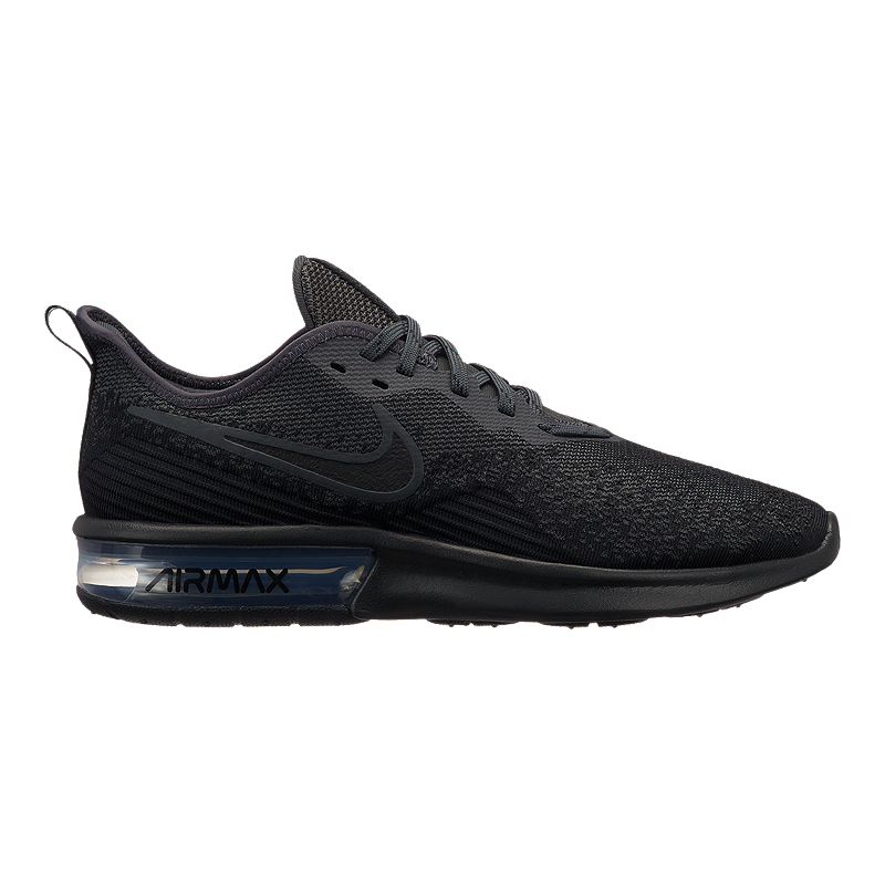 new style 8c036 82e2a Nike Men s Air Max Sequent 4 Running Shoes - Black Anthracite   Sport Chek